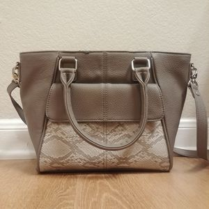 Jewell by Thirty-One Gray Satchel